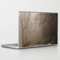 lou reed Laptop & iPad Skins featuring Deerie Lou by Misspeden
