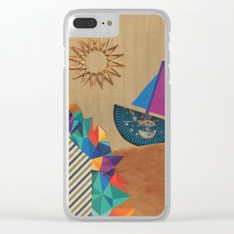 Smooth Sailing Clear iPhone Case