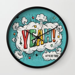 Let's Do This Wall Clock