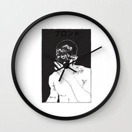frank ocean's blond\blonde Wall Clock