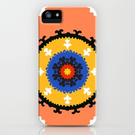 Bold and bright beauty of suzani patterns ver.8 iPhone Case
