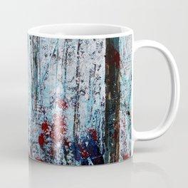 Autumn Smoke - Misty Autumn Forest Scene Coffee Mug
