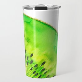 Kiwi fruit Travel Mug
