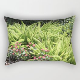 Sunny Green Rectangular Pillow
