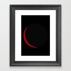 Crescent Framed Art Print