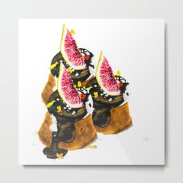 Sometimes you just need cake Metal Print