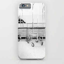 At the Laundromat iPhone Case