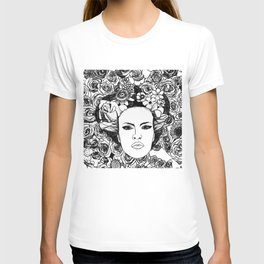 """PHOENIX AND THE FLOWER GIRL """"STEP BY STEP MOVING"""" SINGLE PRINT T-shirt"""