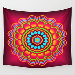 Symmetric composition 25 Wall Tapestry