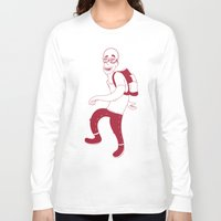 backpack Long Sleeve T-shirts featuring Guy by Molly Yllom Shop