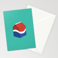 Pepsi in a box Stationery Cards