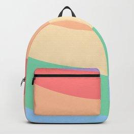 Rainbow Stripes 8 Backpack