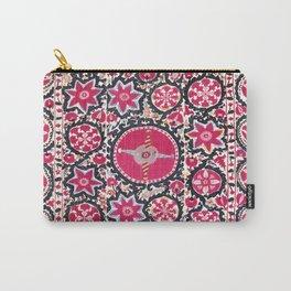 Ura Tube Suzani Northeast Uzbekistan Embroidery Print Carry-All Pouch