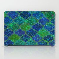 moroccan iPad Cases featuring Glitter Moroccan by Saundra Myles