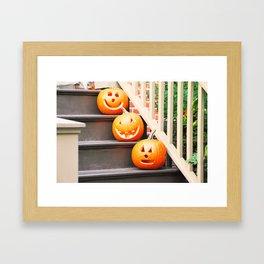 196. Halloween's Team, New York Framed Art Print
