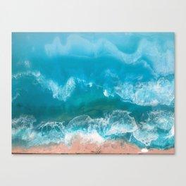 I Dream of Turqouise Seas Canvas Print
