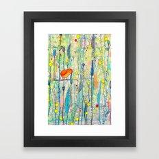 grandir Framed Art Print
