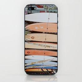 lets surf ii iPhone Skin