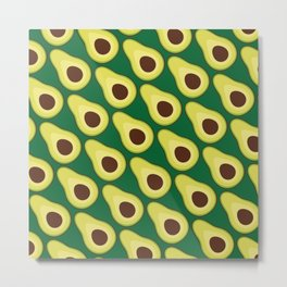 Avocado Metal Print
