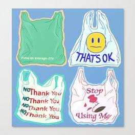 Plastic Canvas Print