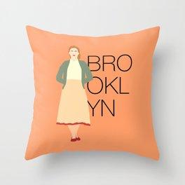 Brooklyn is Saoirse Ronan Throw Pillow