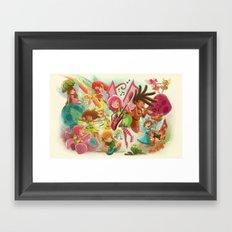 Goblins Drool, Fairies Rule! - Team Fairy Framed Art Print