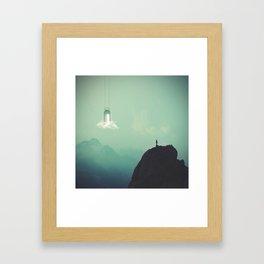 Seek Salvation Framed Art Print