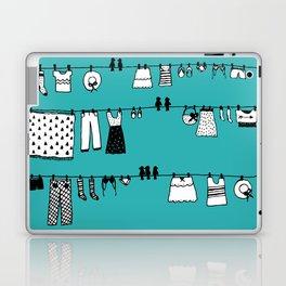 Laundry Doodle Laptop & iPad Skin
