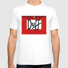 Duff Beer Logo Red T-shirt