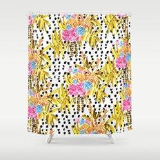 Patterned Bouquet II Shower Curtain