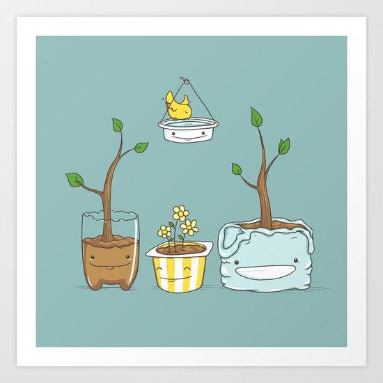 Nature Friendly Art Print