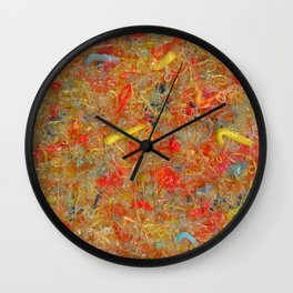 lucky people Wall Clock