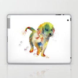 Colorful Puppy - Little Friend Laptop & iPad Skin