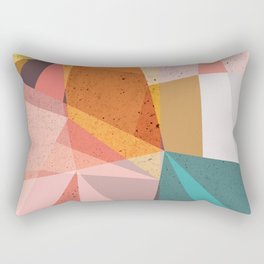 Modern Geometric 67 Rectangular Pillow