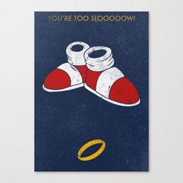 Too Slooooow! Canvas Print