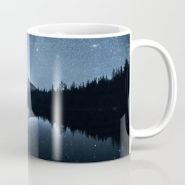 Trillium Lake Stars And Milky Way   7-25-19 Coffee Mug