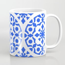 Blue Pattern 1 Coffee Mug