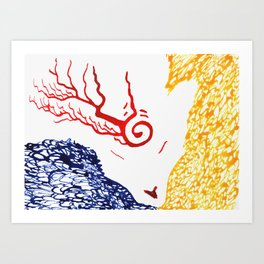 Spirit Of Three Art Print