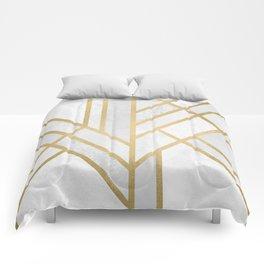 Art Deco Geometry 2 Comforters
