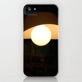Dramatic lamp iPhone Case
