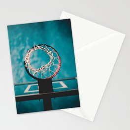 basketball hoop 6 Stationery Cards