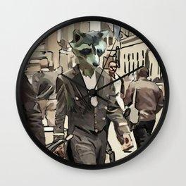 CITY SLIKER Wall Clock