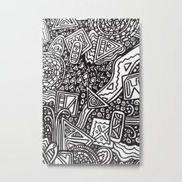 Doodlebug Metal Print