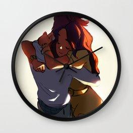 Couple Wall Clock