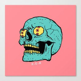 Rapid Eye Movement Canvas Print