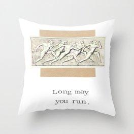 Long May You Run Throw Pillow
