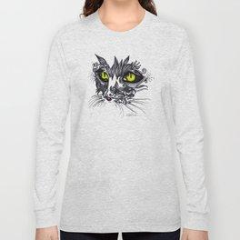 Intense Cat Long Sleeve T-shirt