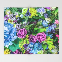 A Vibrant Life Throw Blanket