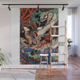 Ukiyo-e, Dragon Wall Mural