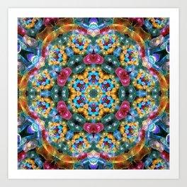 Fractal Jewels Art Print